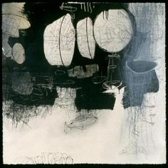 """""""After the Ending IV"""" - Abstract Printmaking by Ike Bushman"""