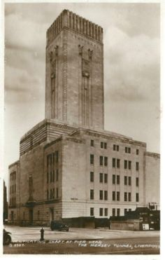 Liverpool Ventilating shaft 1930's