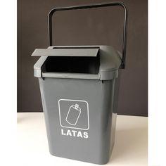 Contenedor de residuos Easymax de 45 litros de capacidad, especial para separar las latas. Canning, Waste Container, Recycling Bins, Pull Apart, Tin Cans, Home Canning, Conservation