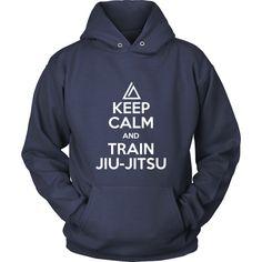 Show how much you love Brazilian Jiu Jiuts wearing Keep Calm and Train Jiu Jitsu. Check more Brazilian Jiu Jitsu t-shirts. If you want a different color, style or have an idea for design contact us we