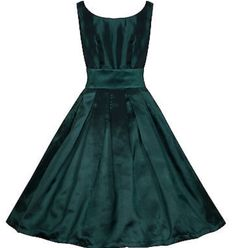 Lana dress in green by Lindy Bop