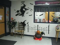 halloween library displays - Google Search