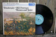 Tchaikovsky 1812 Overature Romeo and Juliet Vinyl by JoyousVintage