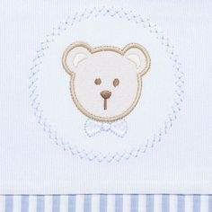 Jogo de lençol para berço em malha Fio Penteado Hey Baby. R  119 cc760ee65d4