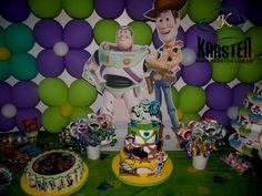 Torta y Decoración de #ToyStory
