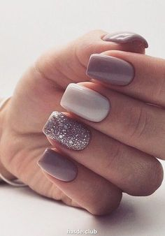 Spring gel nails are beautiful and elegant. They are suitable for many sets, especially for the spring looks. Spring gel nails are beautiful and elegant. Long Nail Designs, Acrylic Nail Designs, Nail Art Designs, Nails Design, Stylish Nails, Trendy Nails, Cute Nails, Fall Nail Trends, Nail Color Trends