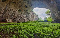 Devetashka Cave, Bulgaria,