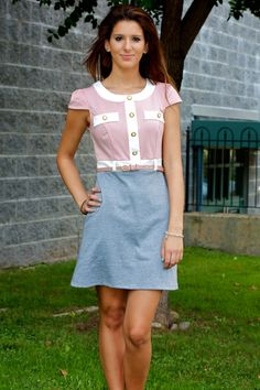 Casual Belted Dress #May23Online $40.00