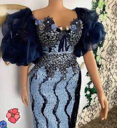 Nigerian Lace Styles Dress, Aso Ebi Lace Styles, African Lace Styles, Short African Dresses, Lace Dress Styles, Latest African Fashion Dresses, African Print Dresses, African Fashion Traditional, African Print Dress Designs
