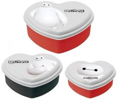 Disney BAYMAX Bento Lunch Box Container 3pc Set from Japan New