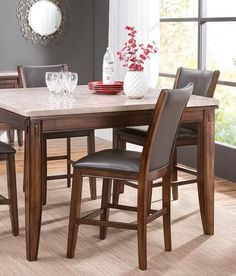 Enzo 5Piece Dining Set From Slumberland Furniturewhat A Great Classy Slumberland Dining Room Sets Design Ideas