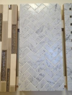 Kitchen: Backsplash Tile Is this marble? I love it much!