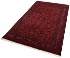 Orientteppich »Afghan Khal Mohammadi« rot, B/L: 200x300cm, Parwis Jetzt bestellen unter: https://moebel.ladendirekt.de/heimtextilien/teppiche/orientteppiche/?uid=f9844267-5d5d-522f-8422-32aafff0ad79&utm_source=pinterest&utm_medium=pin&utm_campaign=boards #heimtextilien #orientteppiche #teppiche