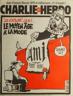 Charlie Hebdo - # 296 - 18 Février 1998 - Couverture : Luz