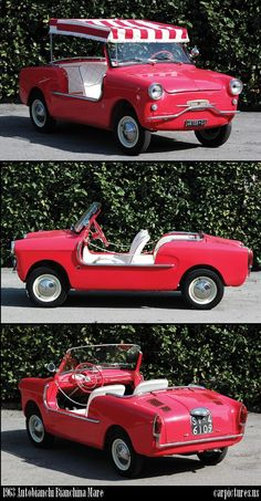 1963 Autobianchi Bianchina Mare. Sold by RM Auctions