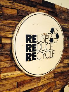 Texas large with reuse, reduce, recycle