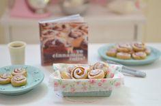 Sweet Petite Miniature Play Scale Basket of by SweetPetiteShoppe