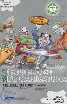 """Vicerrectoria de Asuntos Estudiantiles (VAE): """"CIERRE DE CONCURSO DE CARICATURA-29 DE JULIO 2016..."""
