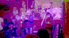"""Live at """"Peppi Guggenheim"""" Berlin 04.03.2017  Trialogues: Jan Weber - guitar Paul Schwingenschlögl - trumpet Udo Betz - doublebass trialogues.de"""