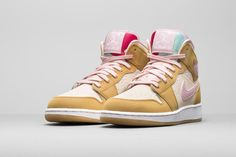 best service f95b4 83c00 As part of the Air Jordan 1 Hare Jordan Easter Collection, Jordan Brand and  Warner Bros. will release two Air Jordan 1 Mid colorways, a Hare and Lola  Bunny