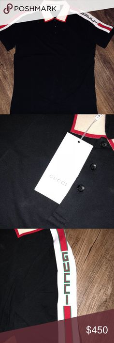 028ff7513 2018 Gucci Trim Polo Brand New Gucci Trim Polo Size XL but runs a little  small Never worn Authentic Offers Welcome Gucci Shirts Polos