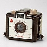 "Make: Kodak Model: Brownie ""Holiday"" Camera with Dakon Lens"