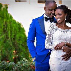 Good morning Nigeria!  Photo by @gazmadu  #weddings #nigerianwedding #bride #bridal #whiteweddings #bridalinspiration