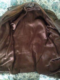 Vintage Deadstock Giant Spike Leather Jacket