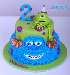 Monsters & Co. Cake