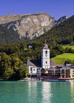 breathtakingdestinations:  St. Wolfgang Church - St. Wolfgang - Austria (von Jasper180969)