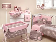 20 Latest Trend for Cute Baby Girl Room Ideas - Home Decor Ideas Baby Bedroom, Baby Room Decor, Girls Bedroom, Baby Set, Baby Cribs, Crib Bedding, Baby Sewing, Girl Room, Baby Quilts