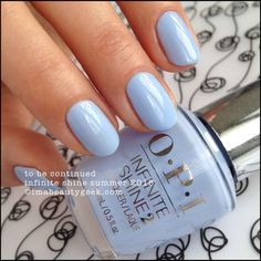 OPI To Be Continued – Infinite Shine Summer 2015