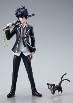 Anime Ao no Blue Exorcist Okumura Rin PVC Action Figure Statue Model Ao No Exorcist, Blue Exorcist Rin, Figurine Anime, Figurine Pop, Otaku Anime, Manga Anime, Anime Art, Rin Okumura, Vocaloid