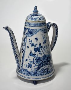 Pottery & China Precise Vintage Delft Blue Holland Dutch Tea Light Children Holding Hands