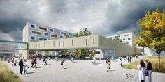 atelier thomas pucher: salzburg regional hospital | designboom