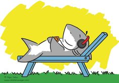Shark relaxing and listening to music https://www.facebook.com/ohdakuwaqa