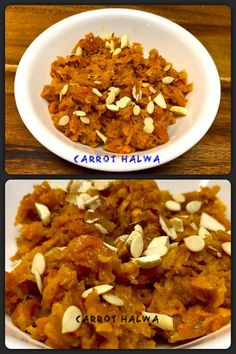 Carrot Halwa (Gajar ka Halwa)is a healthy, delicious and easy to cook Indian dessert.