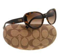 Women's COACH Sunglasses – Tortoise