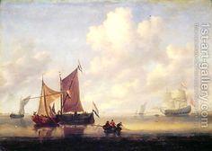 Jan Van De Capelle:Seascape