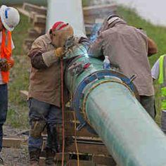 Pipeline welding! #welding