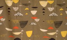 Calyx - Lucienne Day. I once had some. I lost it in a move. Sigh.