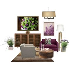 purple, created by bbbh.polyvore.com