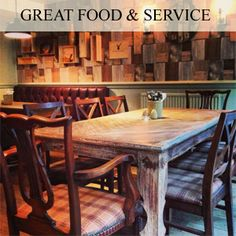 Great food and service at the Flowing Well Abingdon