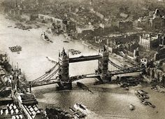 vintage everyday: London in the 1920s – 56 Incredible Pictures Show the Face of England over 90 Years ago