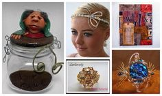 Discover Handmade July 5 #HAFshop #handmade #artists #gifts