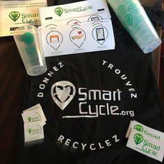On prépare de petits cadeaux pour notre nouveau partenaire Belge. Plus d'infos prochainement #partnership #smartcycle #belgique #recyclage #participatif #goodies #cadeaux #game