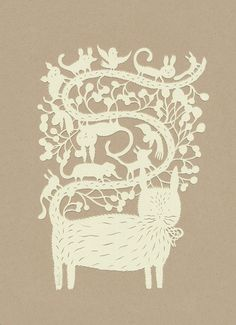 All About Paper Cutting: ANIMALS