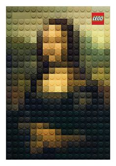 LEGO - Masters by Marco Sodano, via Behance