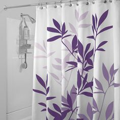 "InterDesign Shower Curtain, Leaves  - This is the right size 54"". They only have it in grey/black, green/blue, brown/green and green.  Let me know if you like it."