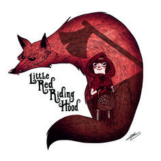 LITTLE RED RIDING HOOD. Croquis+Photoshop. http://oliviersilven.blogspot.fr/2013/03/woodkid-boy-little-red.html All Artwork Copyright Olivier SILVEN.